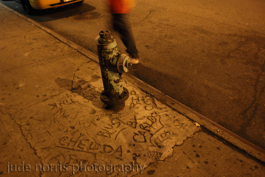 Chedda hydrant forever, Midtown Manhattan - by Plains Cree First Nation photographer Jude Norris